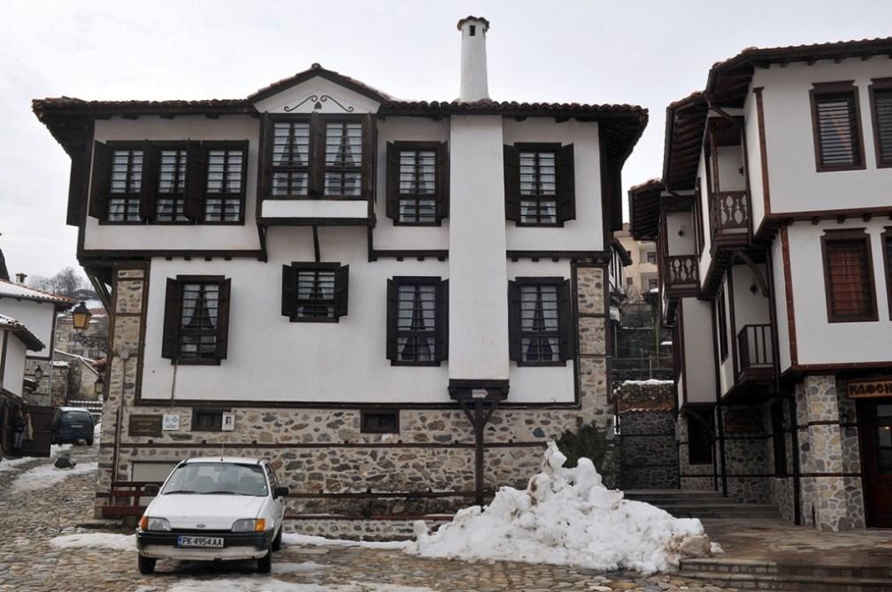 Picturesque mountain town: Zlatograd