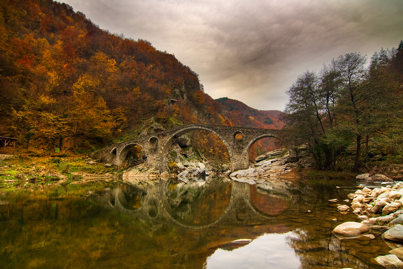 Arched wonder of architecture: Devil's Bridge
