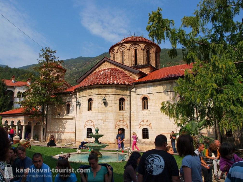 Uniting Bulgarian, Byzantine and Caucasian culture: Bachkovo Monastery