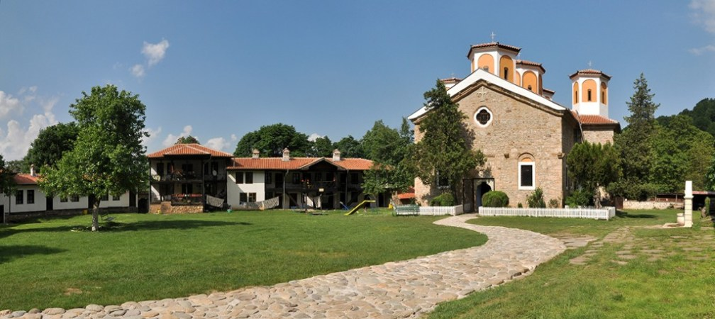Grandeur by the waterfall: Etropole Monastery