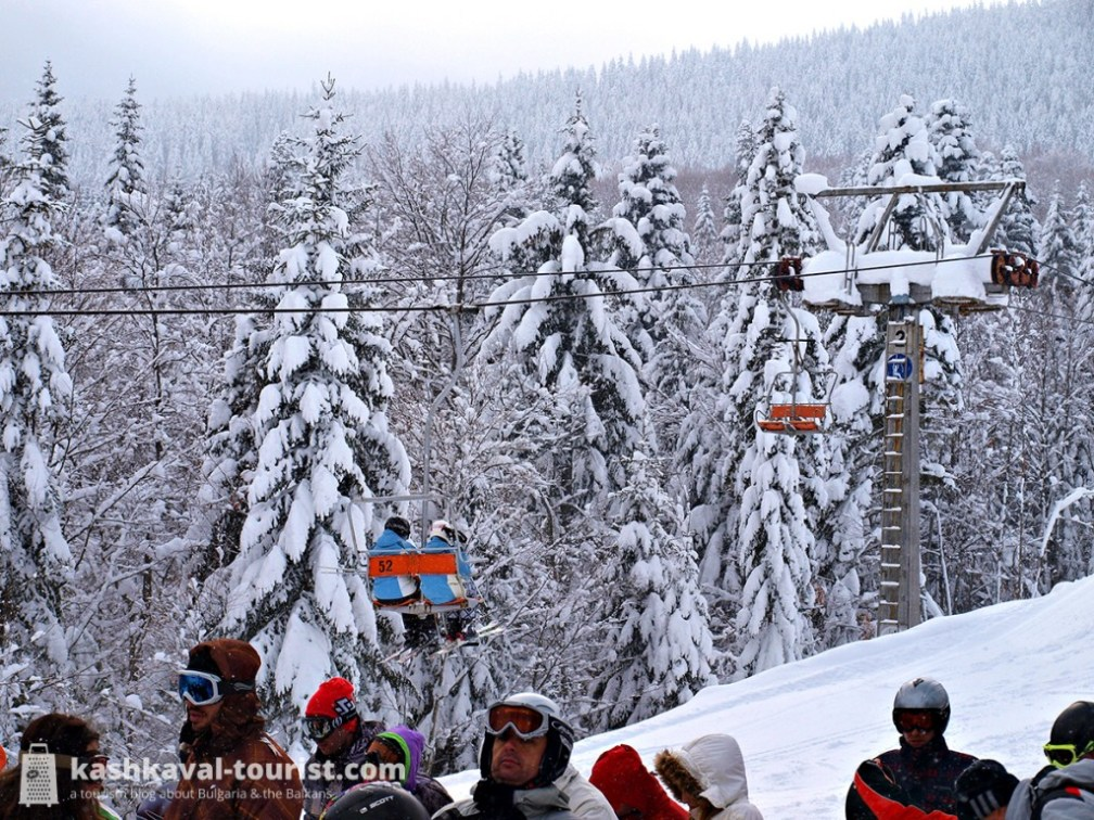 Weather conditions are often perfect for winter sports in Bulgaria