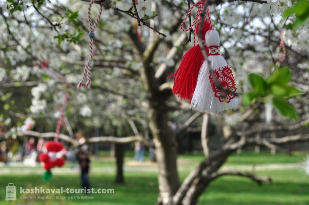 Meeting spring with red and white: Baba Marta