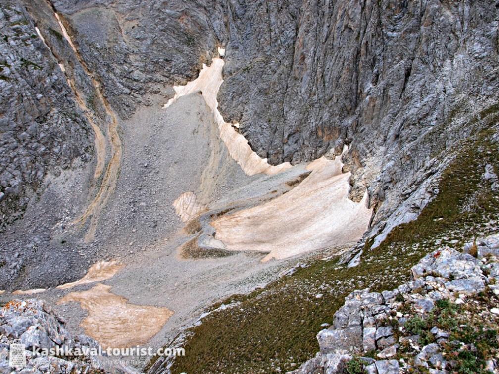 Europe's southernmost glacier: Snezhnika