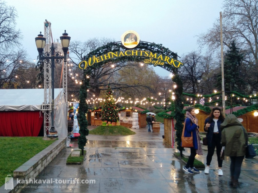 Have a cup of mulled wine at a Christmas market
