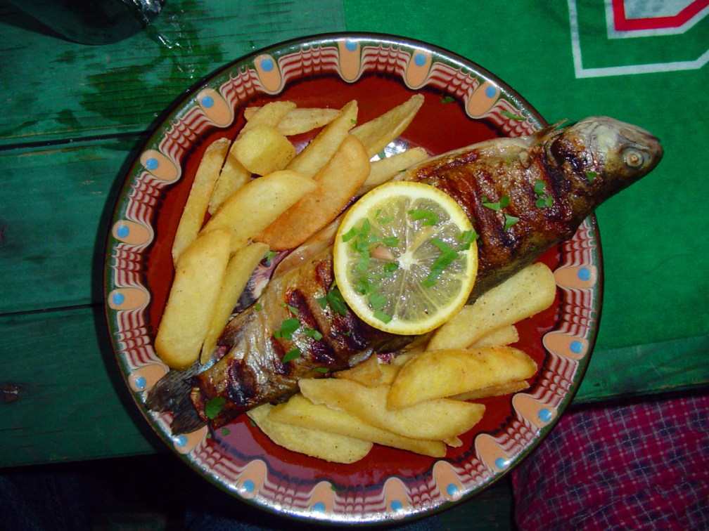 Fish is the staple of a Bulgarian Saint Nicholas' Day dinner.