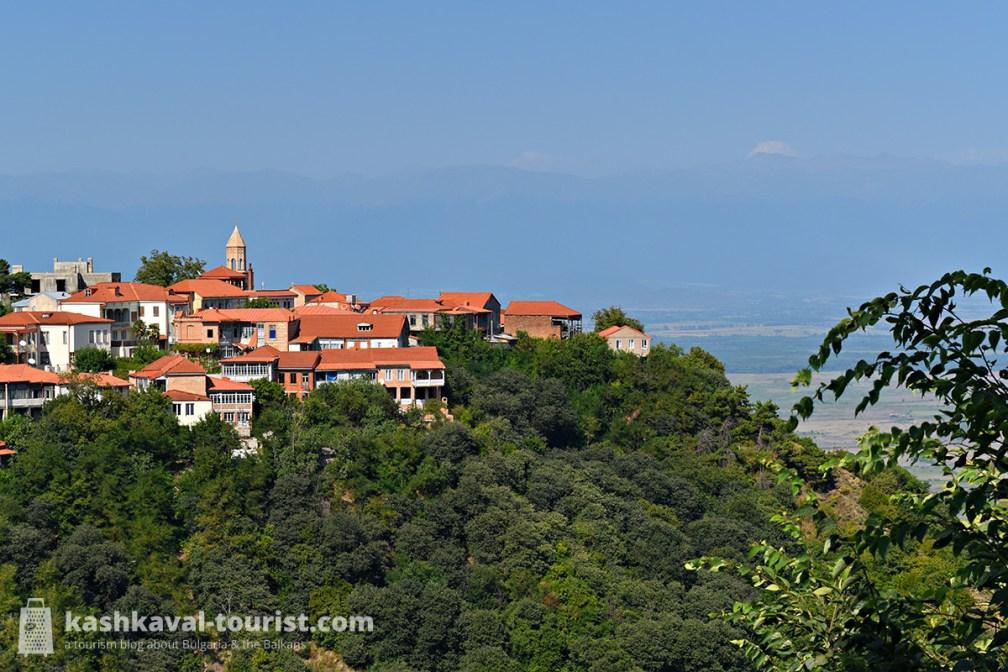 At the heart of the Georgian wine valley: Signagi