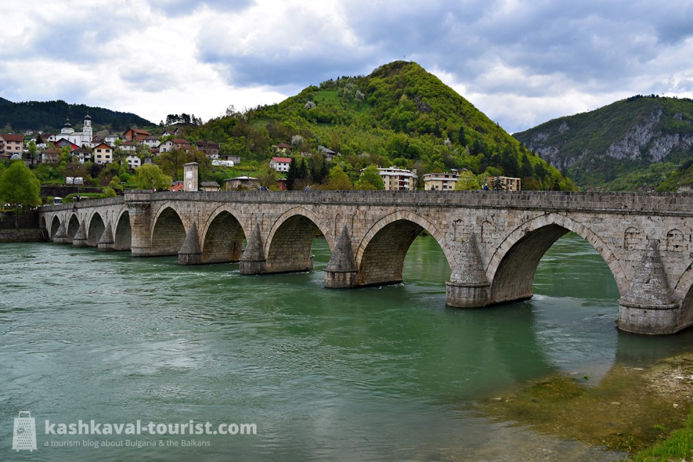 Nobel Prize winner: Bridge on the Drina in Višegrad, Bosnia and Herzegovina
