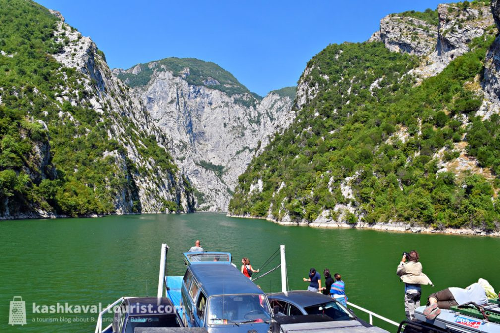 A boat ride to remember: hop on the legendary Lake Koman ferry