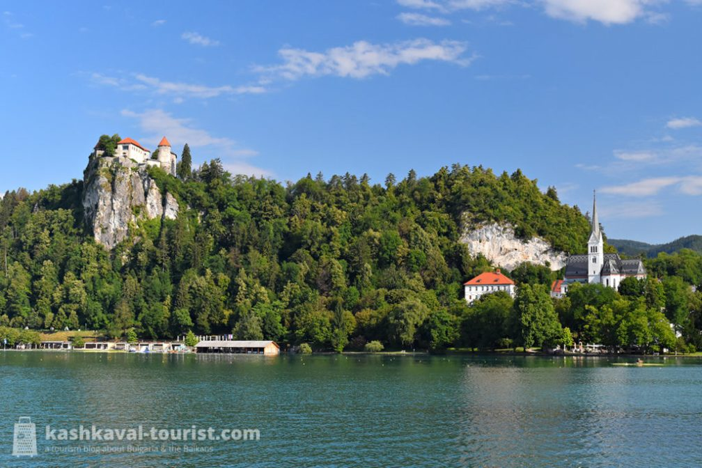 Slovenia's postcard: chill by the shores of Lake Bled