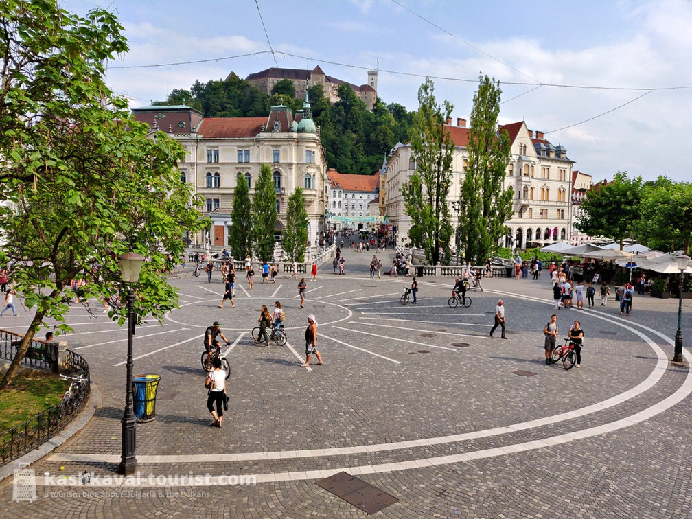 A capital to fall in love with: go for a leisurely walk in historic Ljubljana