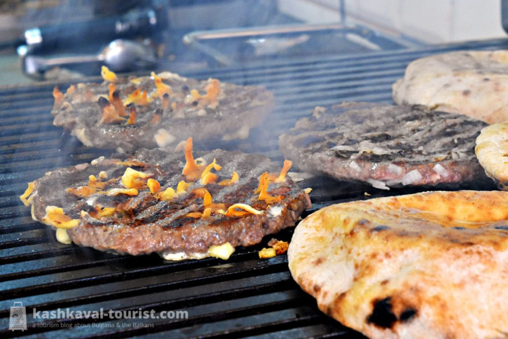 Barbecued meat galore: Balkan grill