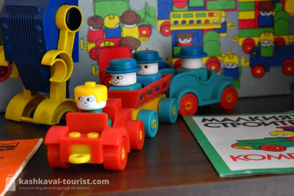 Some of the toys in socialist-era Bulgaria were true design classics