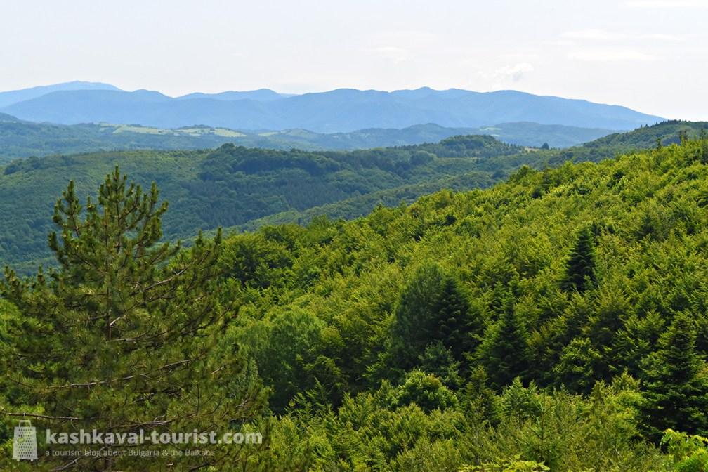 Hike the lush Balkan trails of Balgarka Nature Park