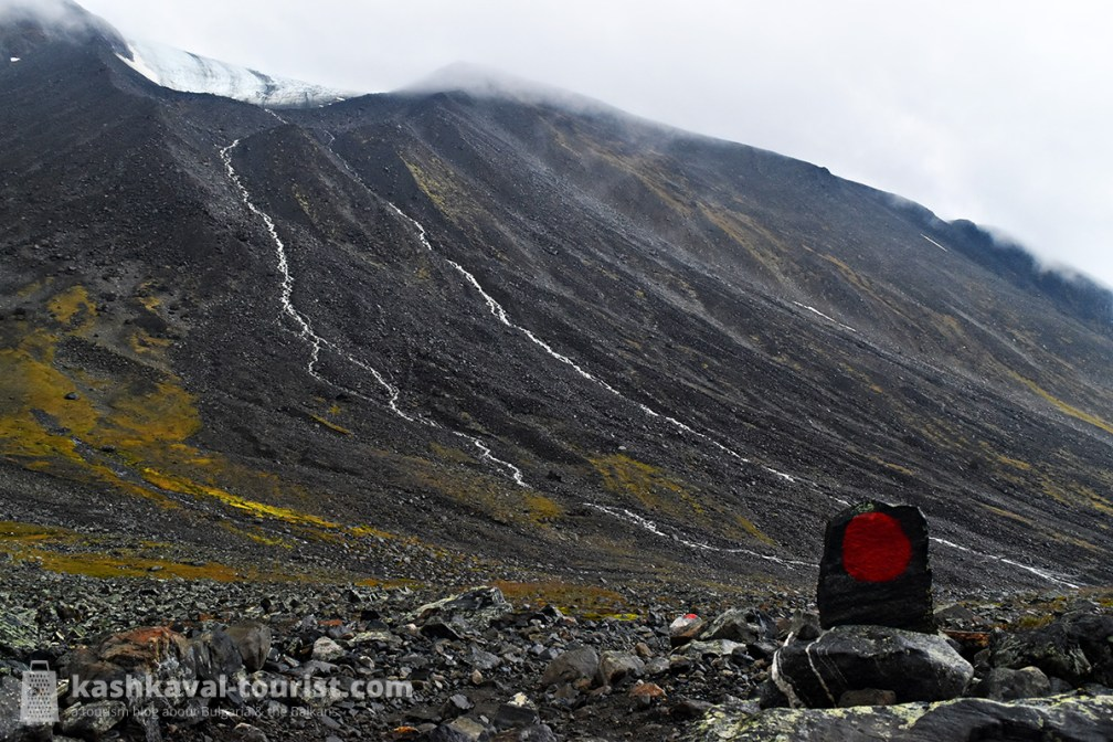 The trail to Kebnekaise South Summit is worth a detour!