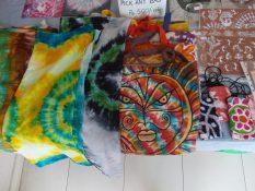 Dupattas and bags