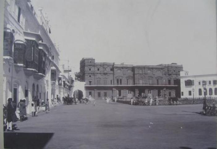 Mubarak Mundi Complex where from Maharaja Hari Singh's government will operate before 1947.