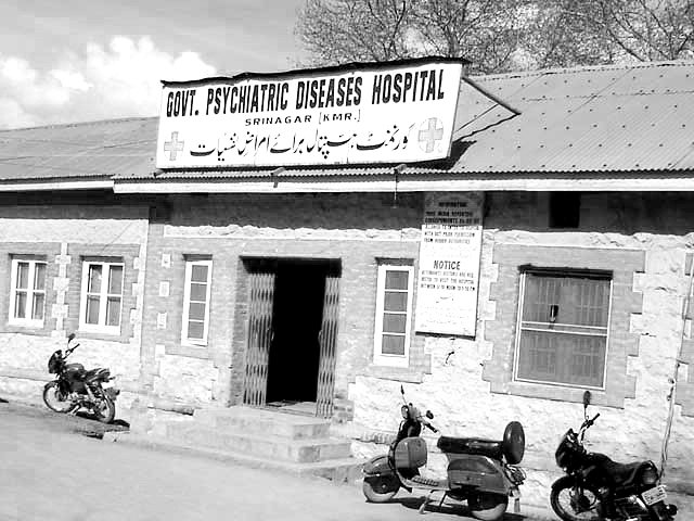 Lone Srinagar Hospital caters to psychiatry needs, though only partially