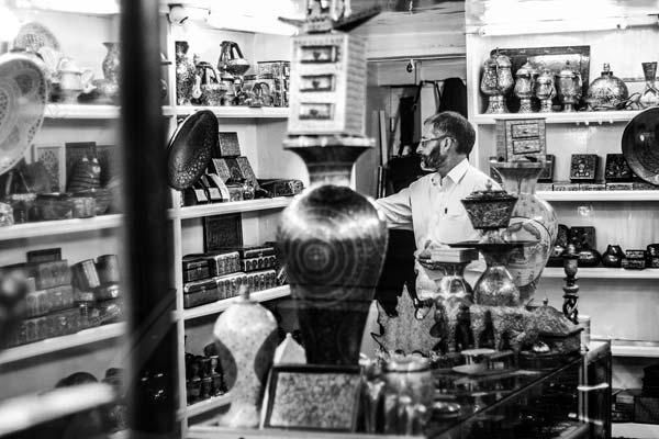 A Paper Machie shop in Srinagar.