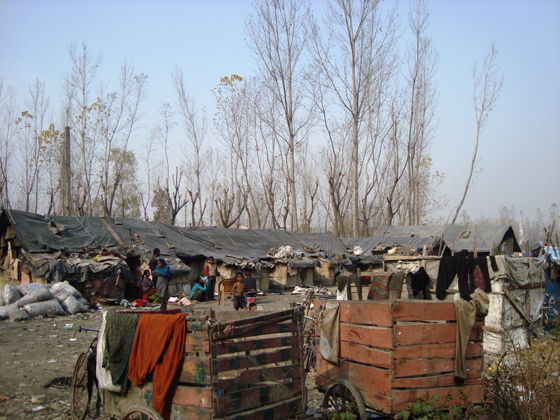 In last two decades a numbers of slums have come up in and around Srinagar.