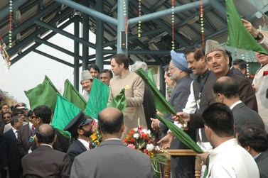 For the second round table conference, Dr Singh flew to Srinagar in May 2006.