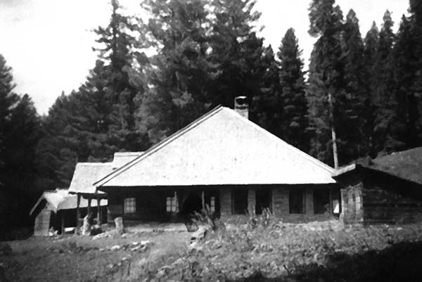 """The ancestral Gulmarg home: Omer Tarin says, """"My grand mother clicked this (and other photos on next page) photo during her in 1979 or 80 visit to Kashmir."""