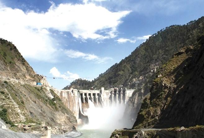 Baglihar-Dam-Front-View