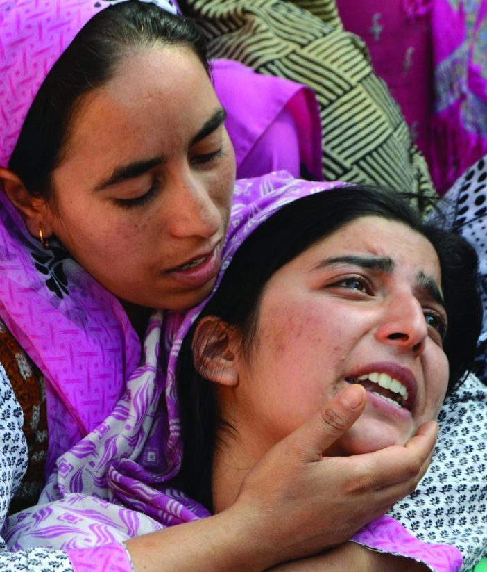 Sister of 11-year-old boy from Theed mourning over the loss. (Photo: Bilal Bahadur/KL)