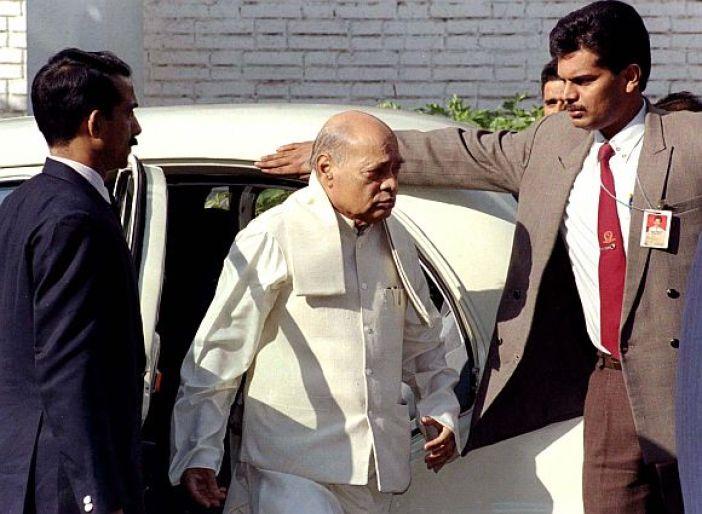 Former India PM Narisimha Rao.