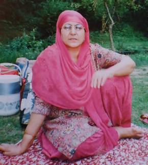 Jawahira, 55, died of suffocation caused by PAVA shells.
