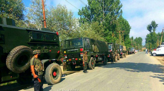 Cordon And Search Operation {CASO} Launched In Saujiyan And Loran Areas Of Poonch District