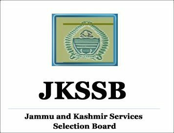 71 Selections Cancelled By JKSSB, Candidates Asked To Approach Concerned Departments