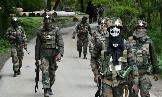 Forces Launch Massive Cordon And Search Operation {CASO} In Chewakhurad Village Of Pulwama District