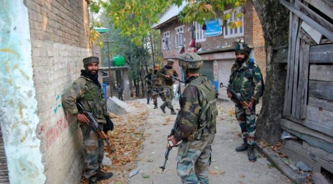 Another Encounter Started Between Militants And Government Forces In Babhoora Pulwama