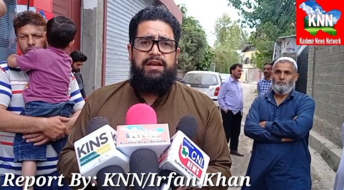 Officials Of R&B Division Khanabal Anantnag In Deep Slumber, Public Keep Suffering But They Don't Care