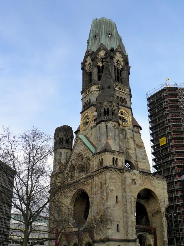 Мемориальная церковь Кайзера Вильгельма на Курфюрстендамм