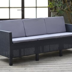 Amazon Sofa Set 5 Seater Chesterfield Vs Wigan Sofascore Allibert Chicago Lounge With Grey Cushions