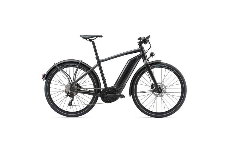 Giant Quick-E Plus 2018 Electric Hybrid Bike Metallic