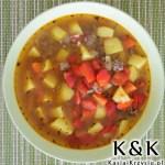 Serbska zupa ziemniaczana