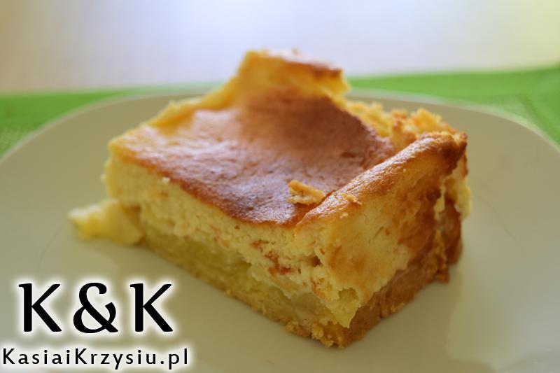 ciasto jablkowo marcepanowe