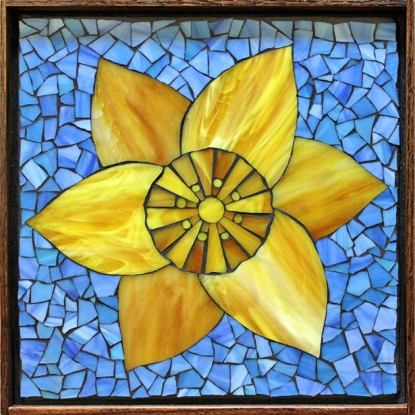 Flower Mosaic Pattern