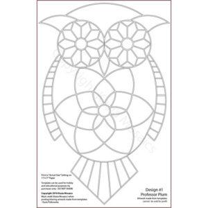 Kasia Mosaics Classes » Template Download: Complete Owl