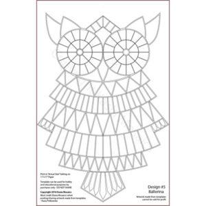 Kasia Mosaics Classes » Product categories » Owl Template