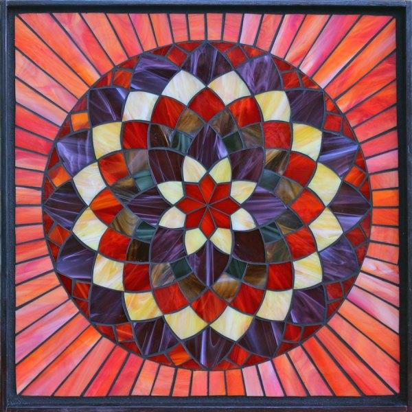 Mosaic Geometric Pattern Templates