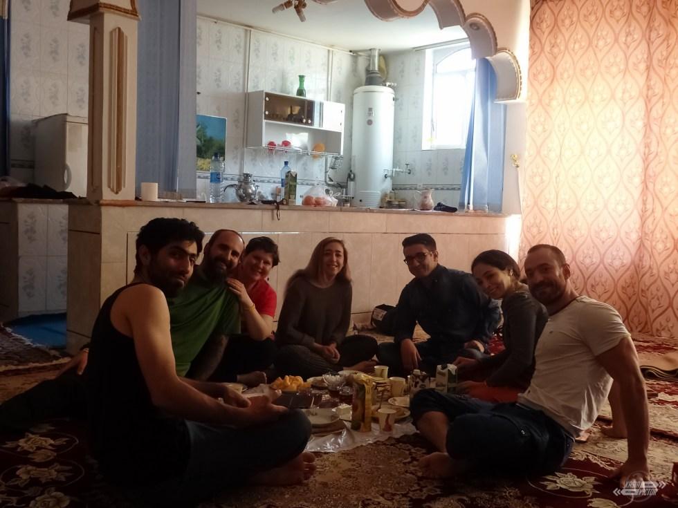 Ali, Said, Payam, Saba, Sama en Varzaneh