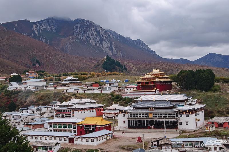 Tybet na własną rękę Langmusi