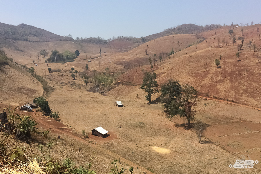 Trekking de Hsipaw a Pankam
