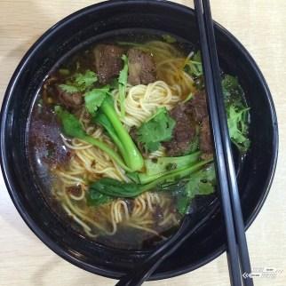 beef noodles Hangzhou