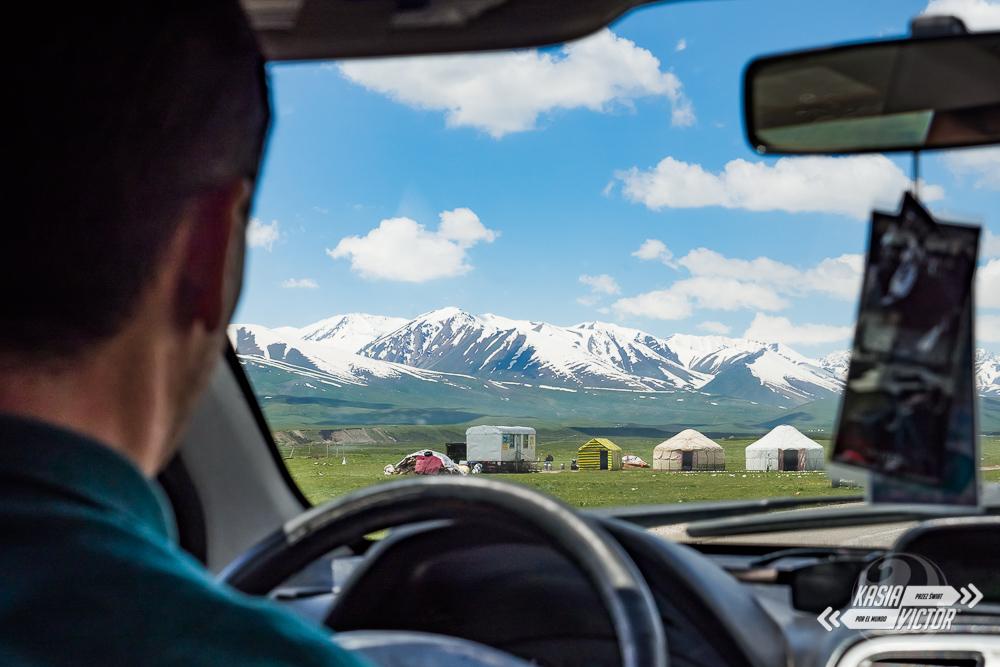 Trasa Biszkek - Osz