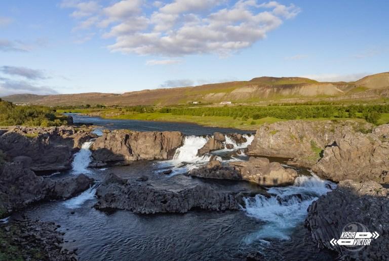Cataratas en Islandia