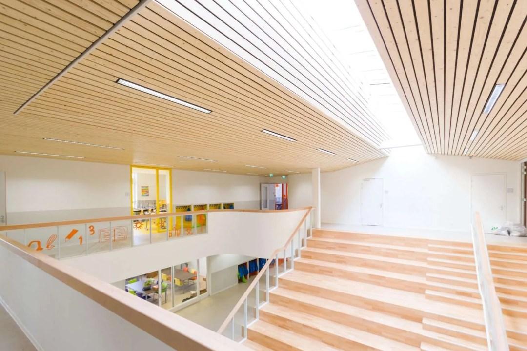 Zalmplaatschool - interieur